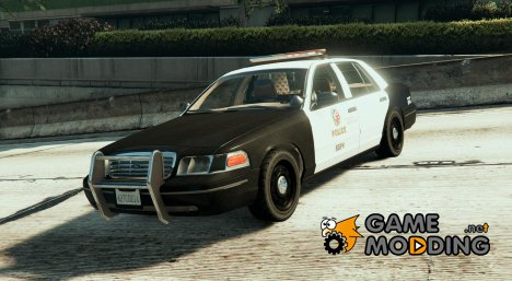 LAPD CVPI with FedSign Arjent for GTA 5