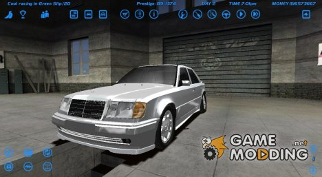 Mercedes-Benz W124 for Street Legal Racing Redline