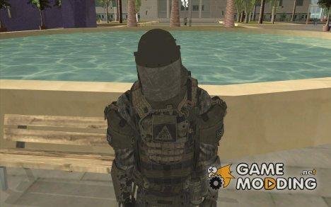 Боевой солдат из CoD:Mw2 for GTA San Andreas