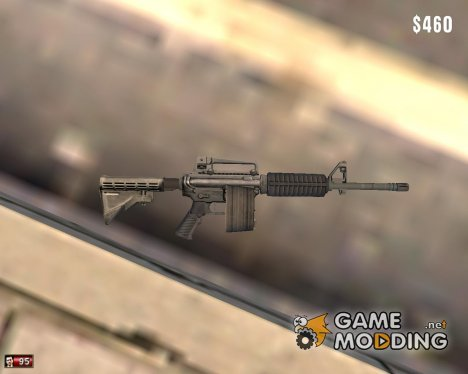 M4 Carbine for Mafia: The City of Lost Heaven