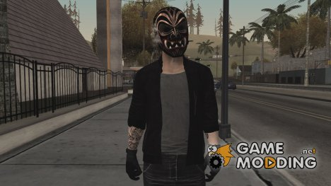 Bodhi with mask for GTA San Andreas