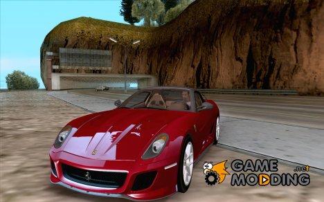 Ferrari 599 GTO 2010 V1.0 для GTA San Andreas
