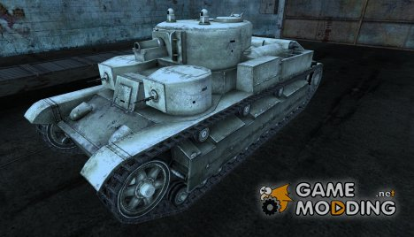 "Т-28 ""Chrome Tanks"" for World of Tanks"