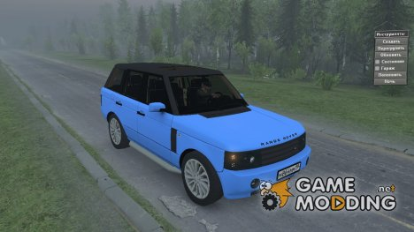 Range Rover Pontorezka for Spintires 2014