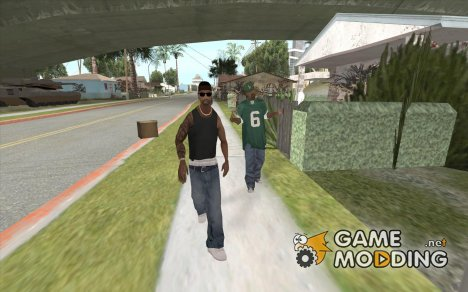 Новая банда Grove-Street for GTA San Andreas