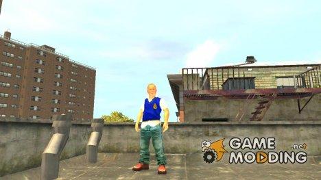 Джимми Хопкинс v.2 для GTA 4