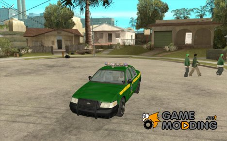 Ford Crown Victoria Vermont Police для GTA San Andreas