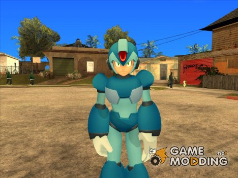 Megaman for GTA San Andreas