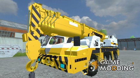 Автокран Liebherr INKL. Hebegestell for Farming Simulator 2013