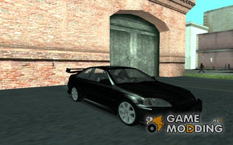 Honda Civic Coupe Fast and Furious для GTA San Andreas