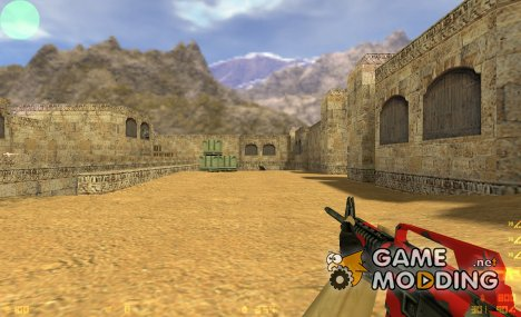 Bloody M4A1 для Counter-Strike 1.6