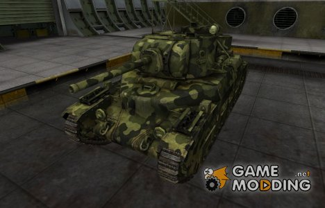 Скин для Матильда IV с камуфляжем for World of Tanks