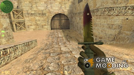 M9 bayonet Marble Fade для Counter-Strike 1.6