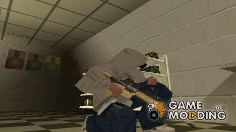 Пак всего оружия for GTA San Andreas