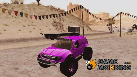 Dacia Duster Baja Kit для GTA San Andreas
