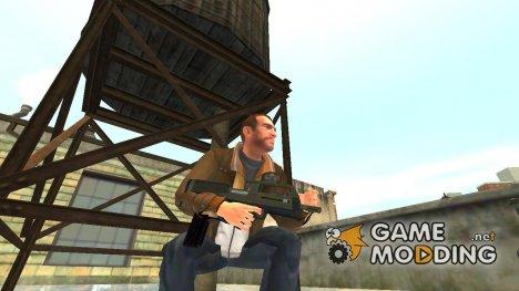 SMG из GTA 5 v.2 for GTA 4