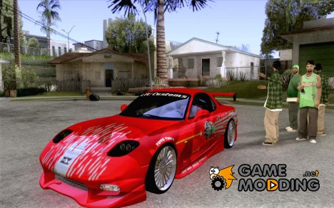 Mazda RX7 FnF for GTA San Andreas