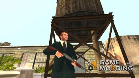 Pump Action Shotgun для GTA 4