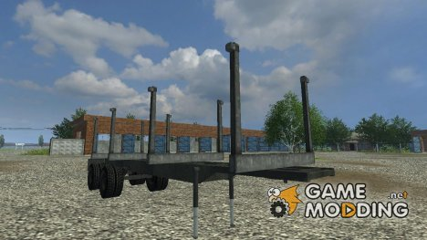 Long timber semi - trailer for Farming Simulator 2013