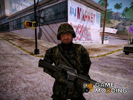 Японский солдат, конверт из PLA для GTA San Andreas