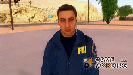 FBI Skin for GTA San Andreas