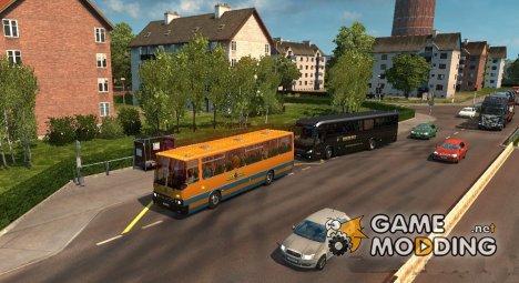 Parking bus для Euro Truck Simulator 2