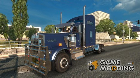 Kenworth W900 v 2.0 for Euro Truck Simulator 2