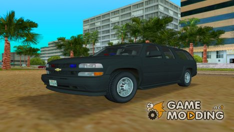 Chevrolet Suburban FBI для GTA Vice City