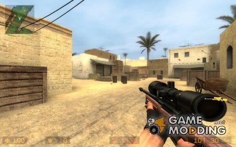 AWP Wood v1 for Counter-Strike Source