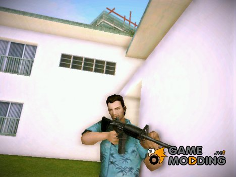Carbine Rifle (M4A1) из GTA IV for GTA Vice City