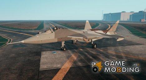 T-50 PAK FA v0.02 для GTA 5