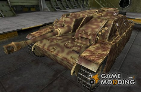 Ремоделинг для StuG III для World of Tanks