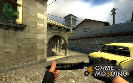 CSS Gold Knife for Counter-Strike Source