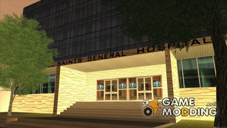 LSPD, All Saints Hospital, Skyscrapers 2016 для GTA San Andreas