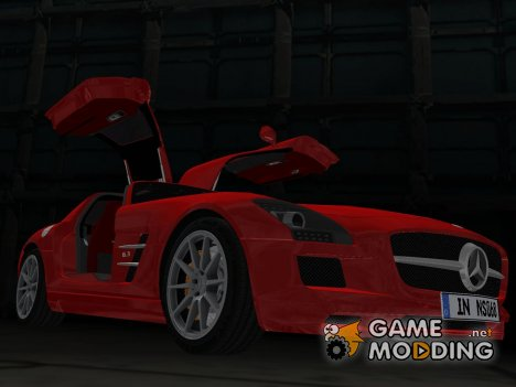 Mercedes-Benz SLS AMG для GTA Vice City