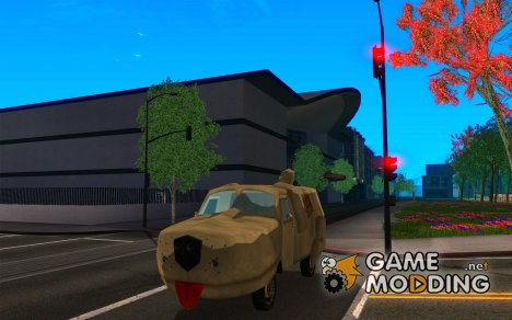 Dumb and Dumber Van для GTA San Andreas