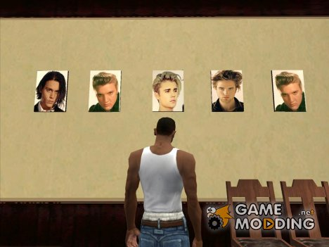 Стрижки звёзд в парикмахерской for GTA San Andreas