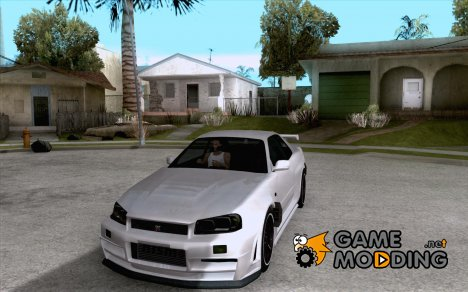 Nissan Skyline R34 Z-Tune V3 for GTA San Andreas