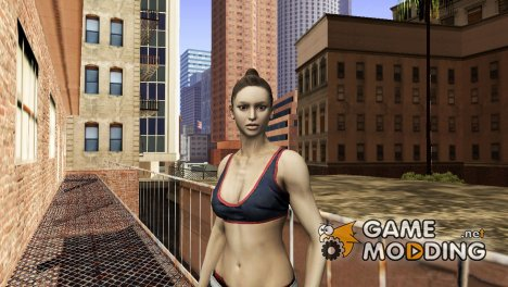 Dance Girl from Binary Domain для GTA San Andreas