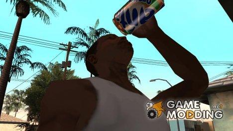 """Новый напиток №3 """"Fanta Orange"""" for GTA San Andreas"""