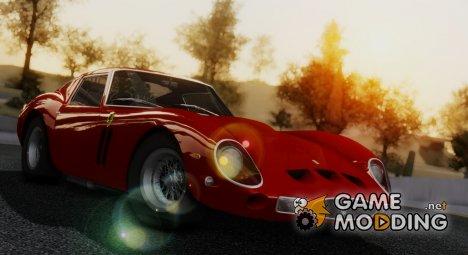 1962 Ferrari 250 GTO (Series I) for GTA San Andreas