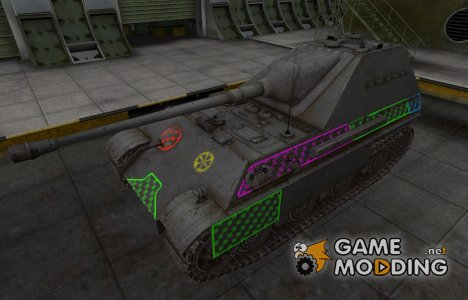 Качественные зоны пробития для Jagdpanther II for World of Tanks