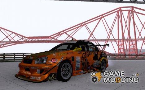 Subaru Impreza WRX STi GDB для GTA San Andreas