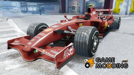 Formula 1 - Ferrari F2007 for GTA 4