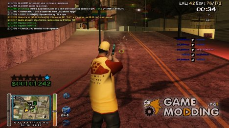New HUD by Miki для GTA San Andreas
