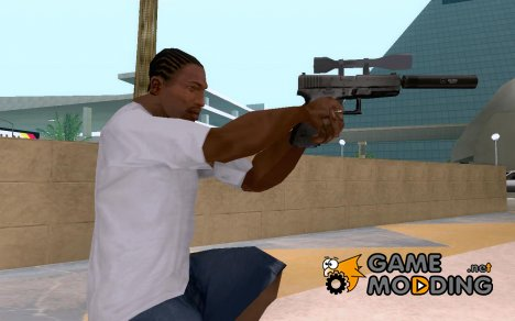 Silenced Pistol - Scope for GTA San Andreas