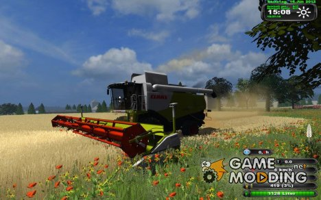 CLAAS Lеxion 750 for Farming Simulator 2013