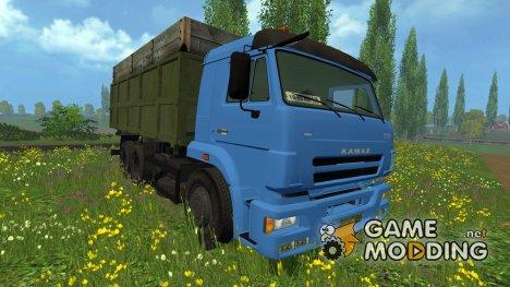 КамАЗ 420 Turbo для Farming Simulator 2015