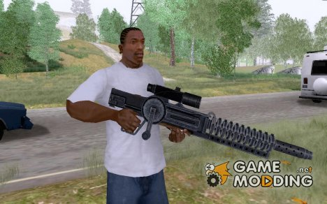 Винтовка гауса из Fallout 3 для GTA San Andreas
