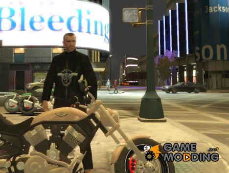 "Кожаная куртка ""Motorhead"" для GTA 4"